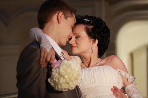 Настя с мужем Михаилом