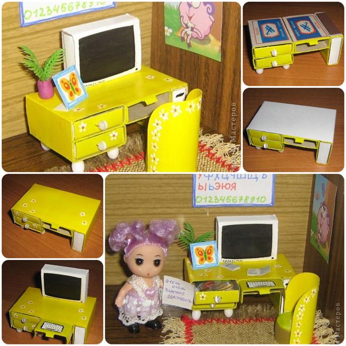 Делаем красивый дом и мебель для кукол Барби - Ярмарка