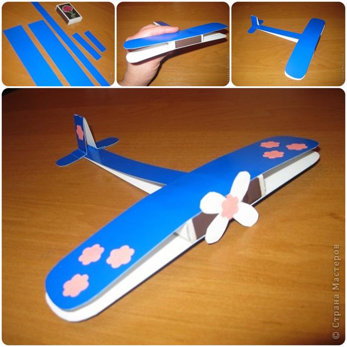 Как склеить самолет