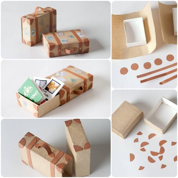 Как сделать из коробки от спичек
