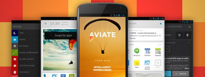 Aviate Beta — революционный лаунчер для Android (+ инвайты)