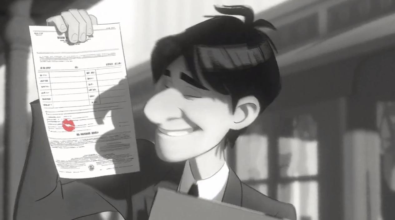ВИДЕО: Мультфильм Paperman / «Бумажный человек»