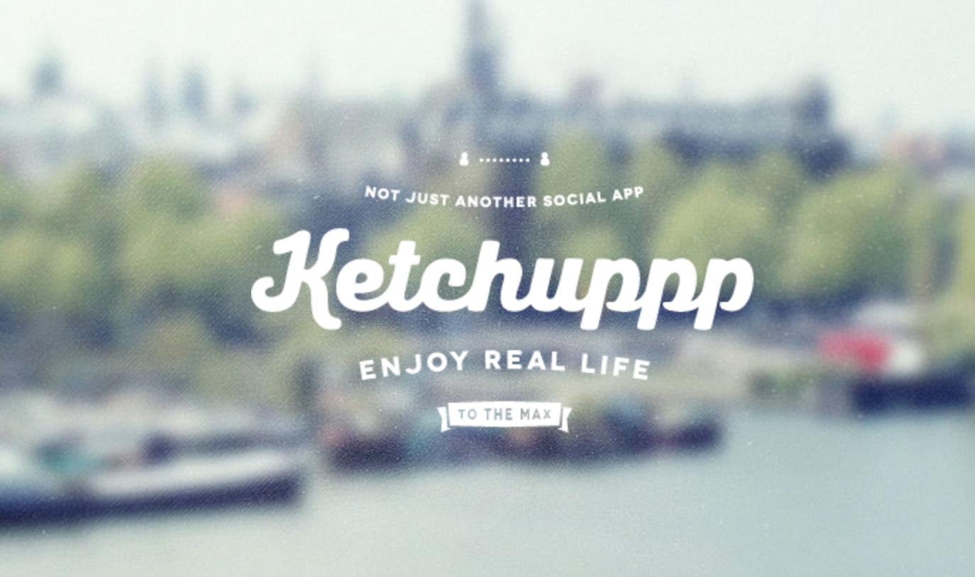 Ketchuppp позволит не забывать встречаться с вашими друзьями в реальном мире