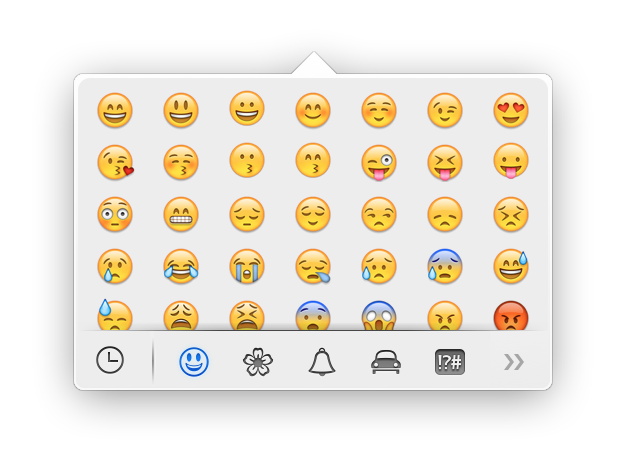 Emoji Mac Os X