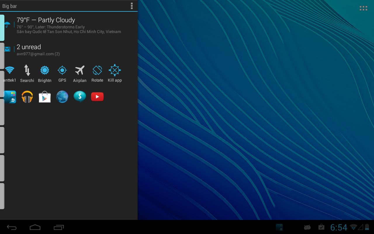 Sidebar Plus — удобные панели для запуска программ и отображения информации