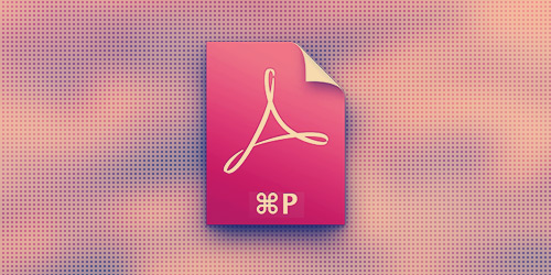 Как просто сохранить страницу в PDF в OS X Mavericks