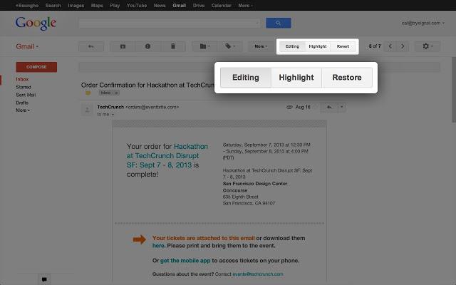 Signal — расширение для Google Chrome, делающее использование Gmail удобнее