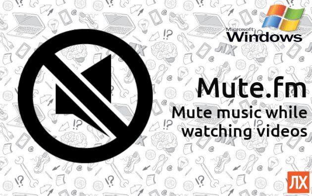 Mute.fm