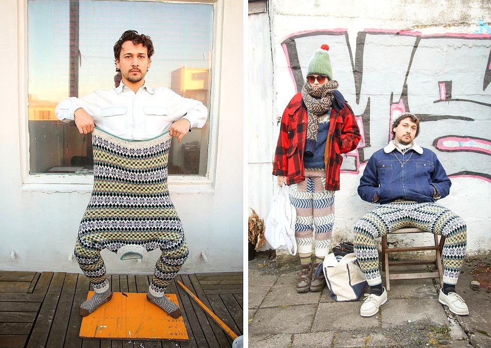 DIY: Как сделать свитбрюки aka брюки из свитера своими руками