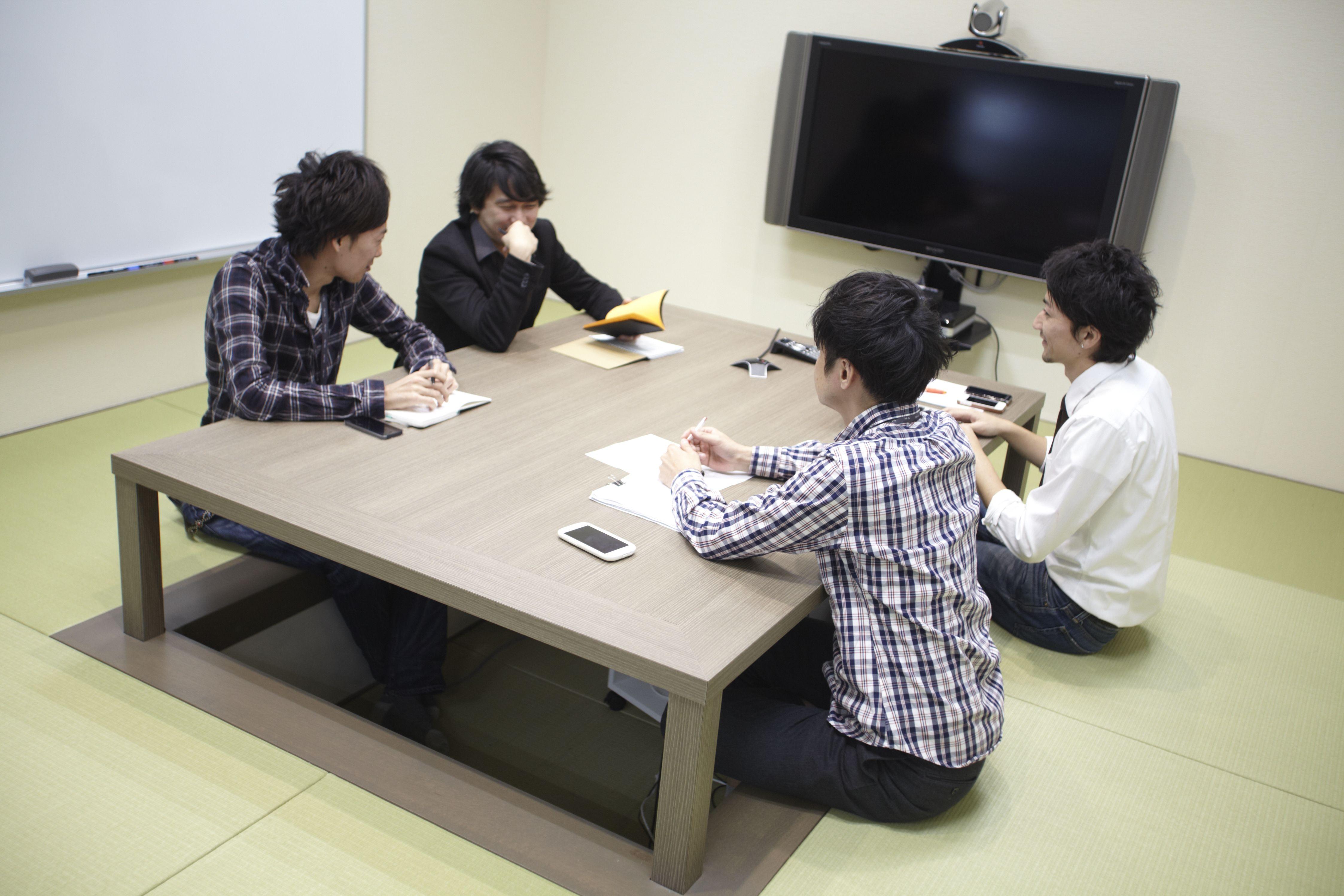 Комната для совещаний в японском стиле