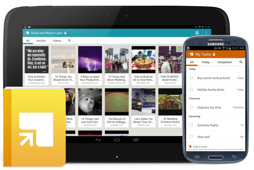 Новые функции Springpad для Android
