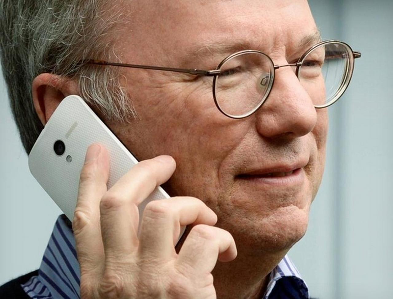 Руководство по свитчингу с iPhone на Android от Эрика Шмидта