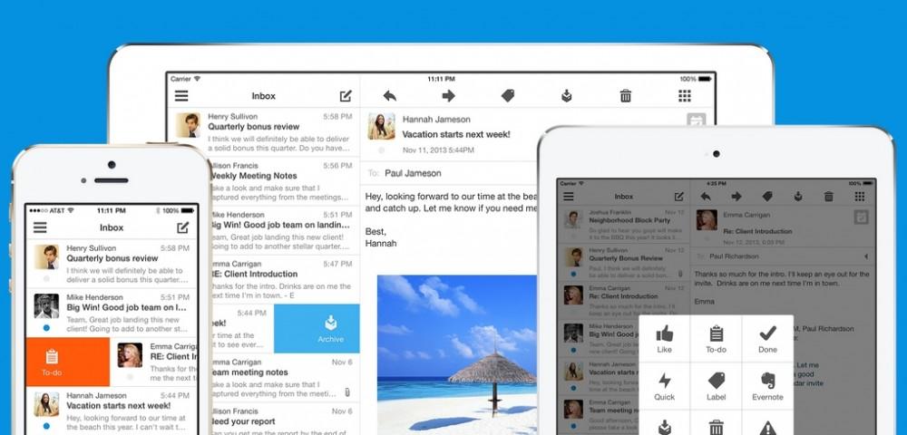 Boxer — почтовый клиент для iOS с акцентом на скорость работы