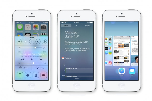 Дизайн iOS 7 — достоинства, недостатки и полные провалы