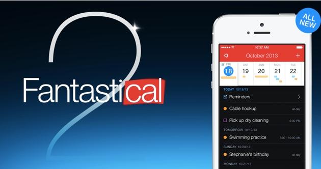 Fantastical 2: ultimate-календарь на iOS c отличным дизайном, автозаполнением информации об ивентах и другими фичами