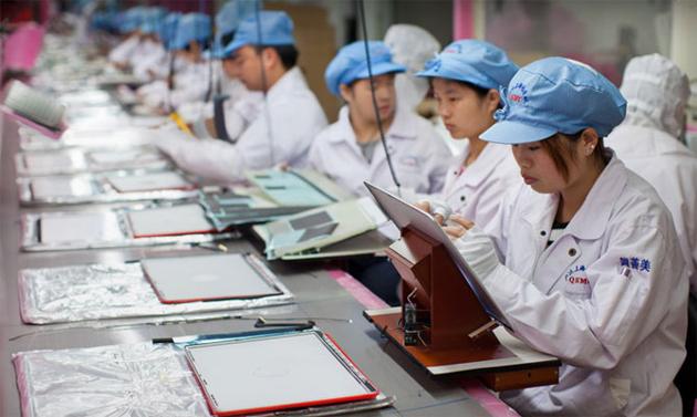 Foxconn производит 500 тысяч iPhone 5s в сутки