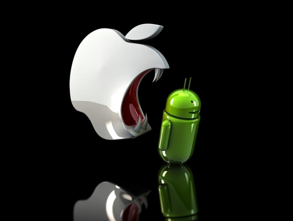 Пользователи iOS потратили на подарки в пять раз больше, чем Android-юзеры