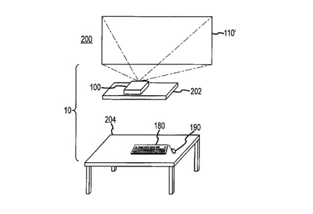 Apple запатентовала компьютер, которому не нужен стол