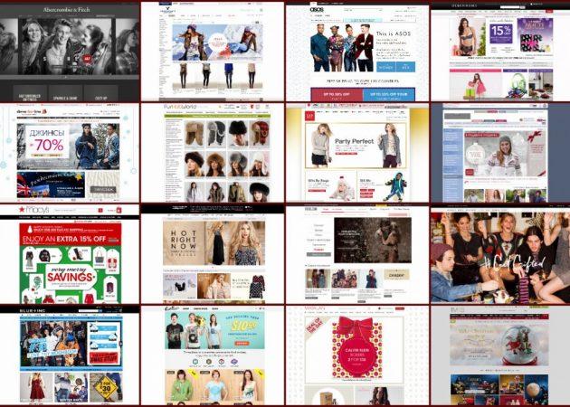 ТОП-20 иностранных интернет-магазинов одежды
