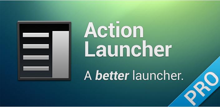 Action Launcher — лаунчер, который пытается отличаться