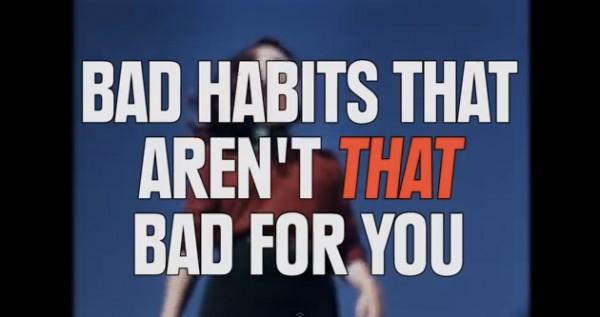 ВИДЕО: Положительные стороны вредных привычек