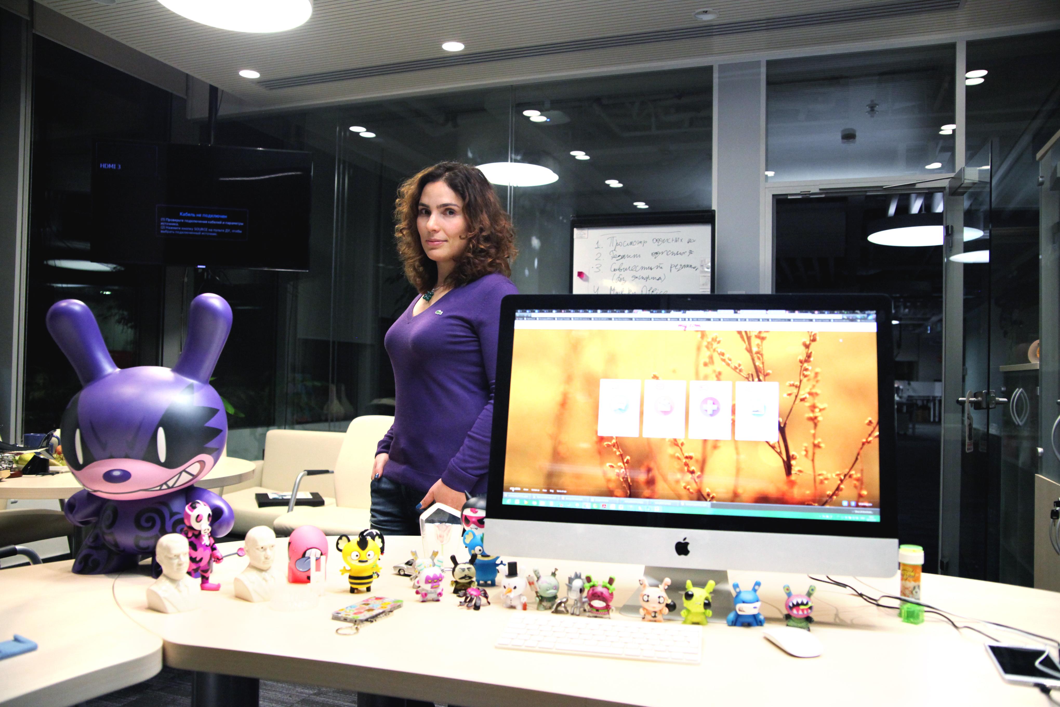 Рабочие места: Анна Артамонова, вице-президент Mail.Ru Group
