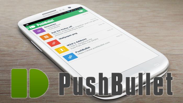 Pushbullet — удобный способ пересылки ссылок, текста, файлов на Android