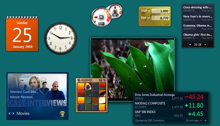 Как вернуть гаджеты рабочего стола в Windows 8\8.1
