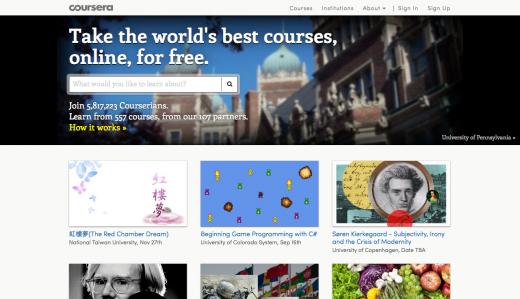 ОП-10: Лучшие онлайн-курсы 2013 года по версии «Лайфхакера»