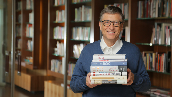 Книги, которые понравились Биллу Гейтсу в 2013 году