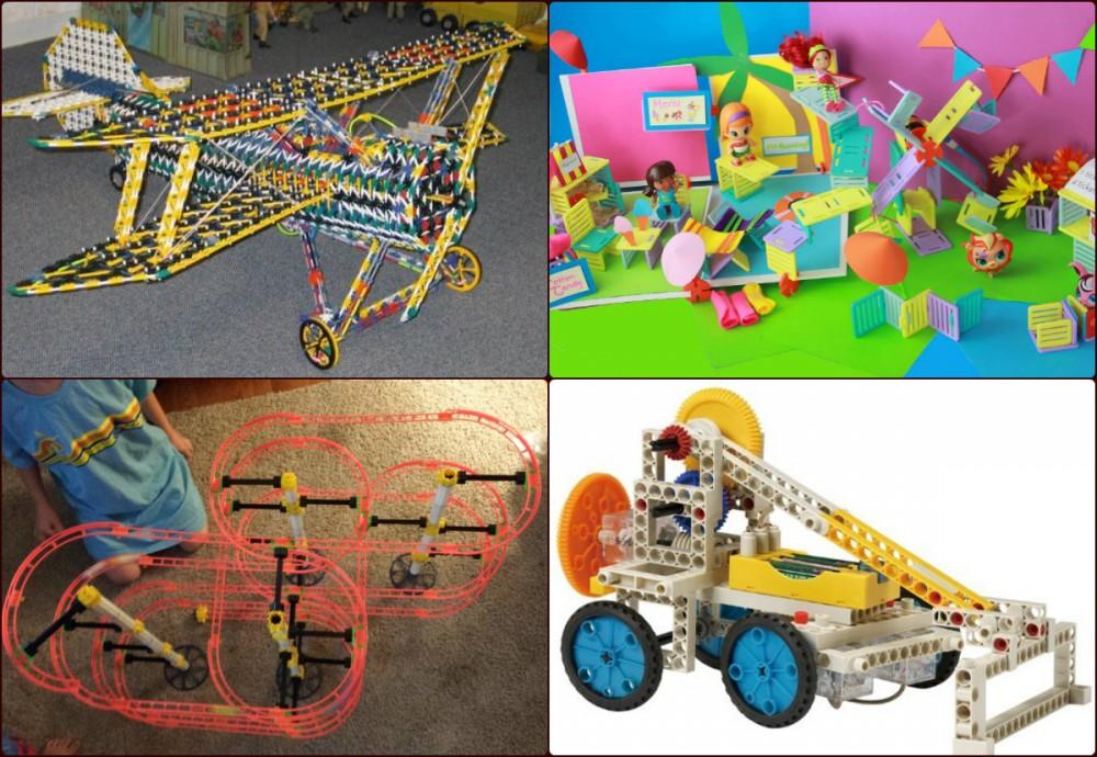 Игрушки для будущих инженеров