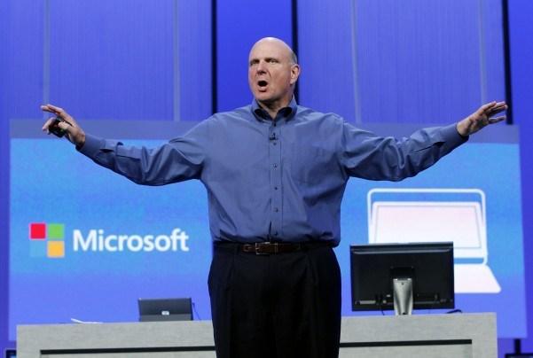 Фото дня: разница в рознице Apple и Microsoft