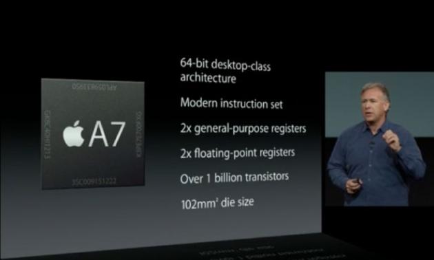 Новый процессор Apple A7 застал производителей чипов врасплох