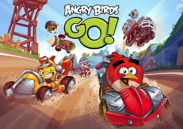 Angry Birds Go!: классные аркадные гонки с ****** донатом