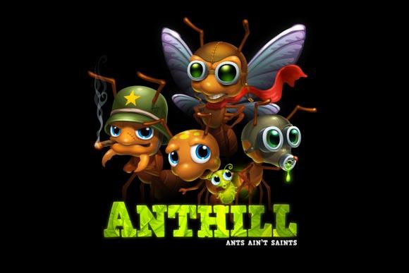 Anthill: интересная и красочная стратегия о войне насекомых