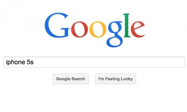 iPhone 5s — третий по популярности поисковый запрос Google в 2013 году