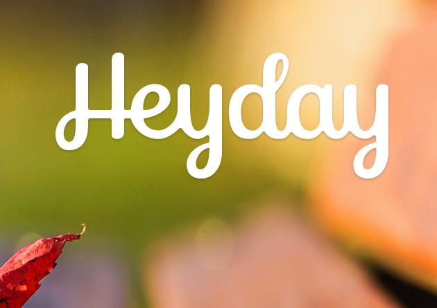 Heyday: личный дневник для iPhone, который ведет себя сам