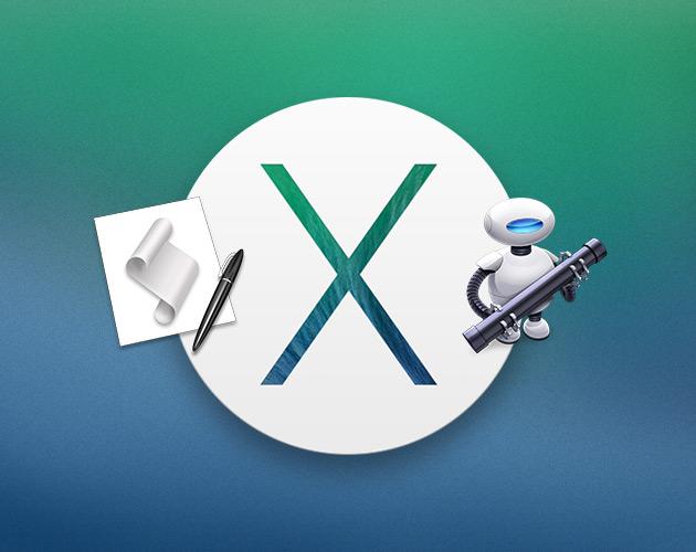 OS X Mavericks: системные улучшения в автоматизации задач