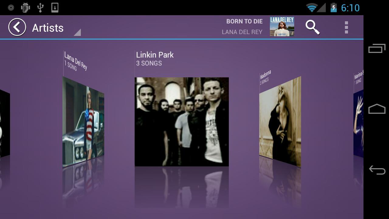 Fusion Music Player — функциональный и бесплатный плеер для Android