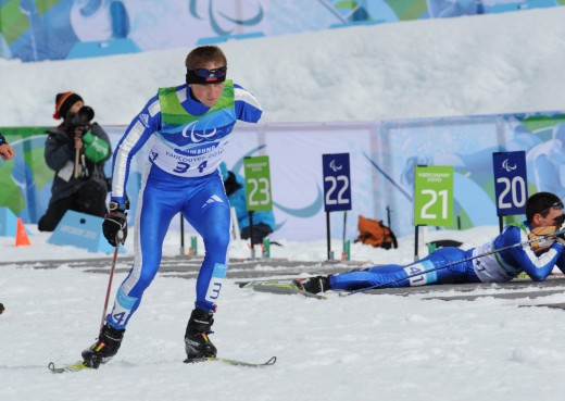 Олег на Паралимпийских играх в Ванкувере