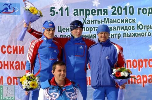 Олег на Чемпионате России в Ханты-Мансийске