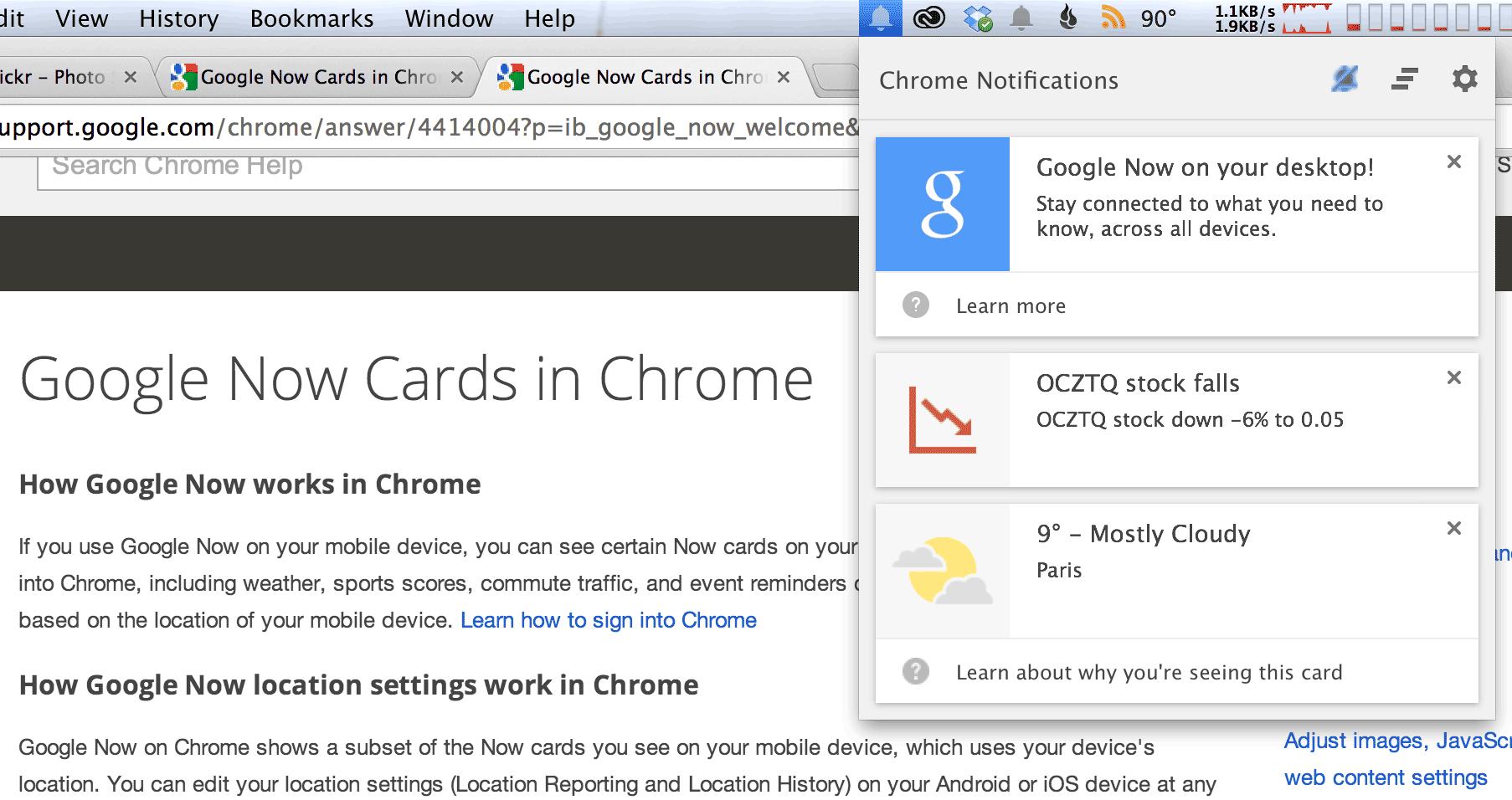 Встречайте, Google Now теперь будет и в Chrome!