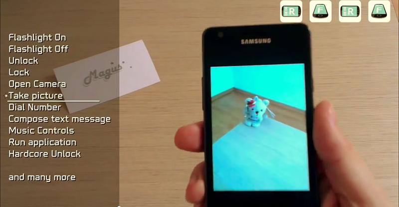 Magus — альтернативное управление Android-смартфоном с помощью 3D-жестов