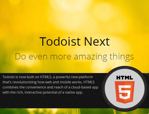 Todoist Next — новая версия популярного менеджера задач