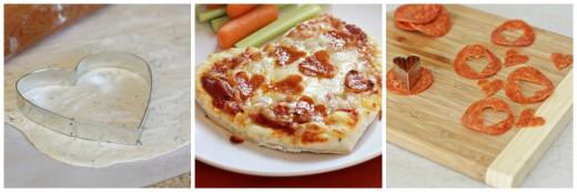Валентинка-пицца