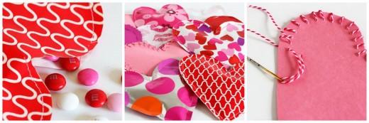 Объемная валентинка «Сердце, полное любви»