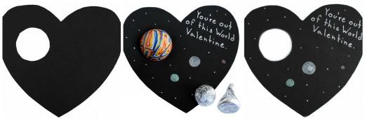 Валентинка – «Неземная любовь»