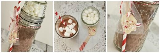 Валентинка – набор для горячего шоколада