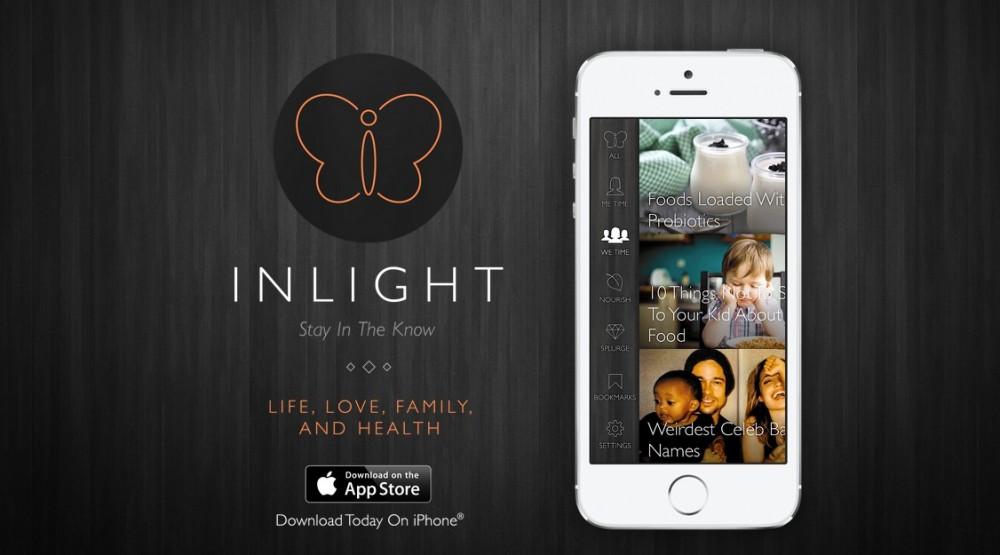 Inlight — приложение с полезными советами для женщин и не только