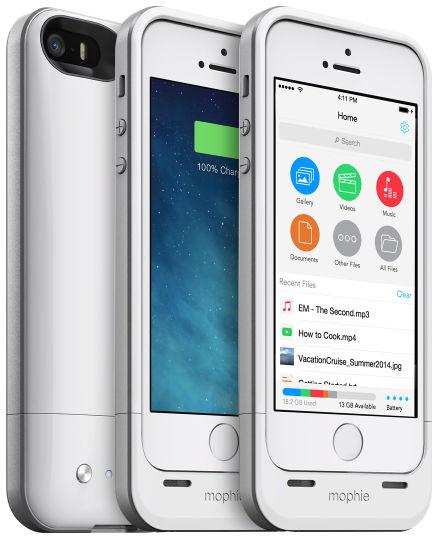 Morphie Space Pack увеличит память и живучесть вашего iPhone